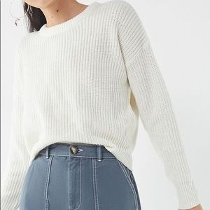 Urban outfitters pullover sweater midi crop length